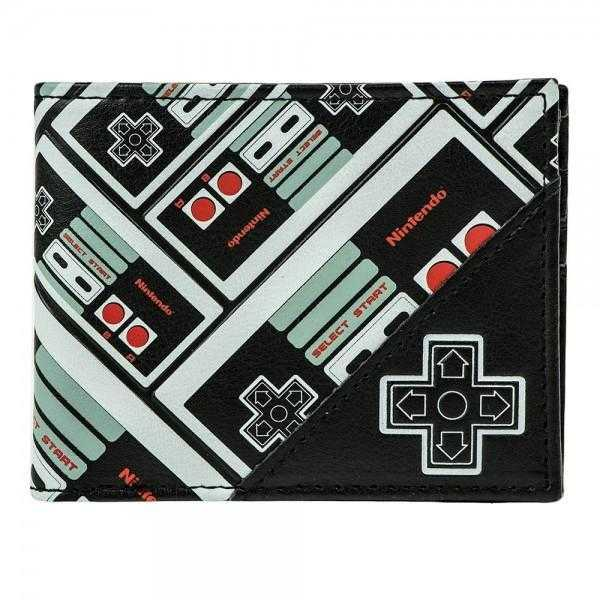 Nintendo Controller All Over Print Bi-Fold Wallet | shopcontrabrands.com
