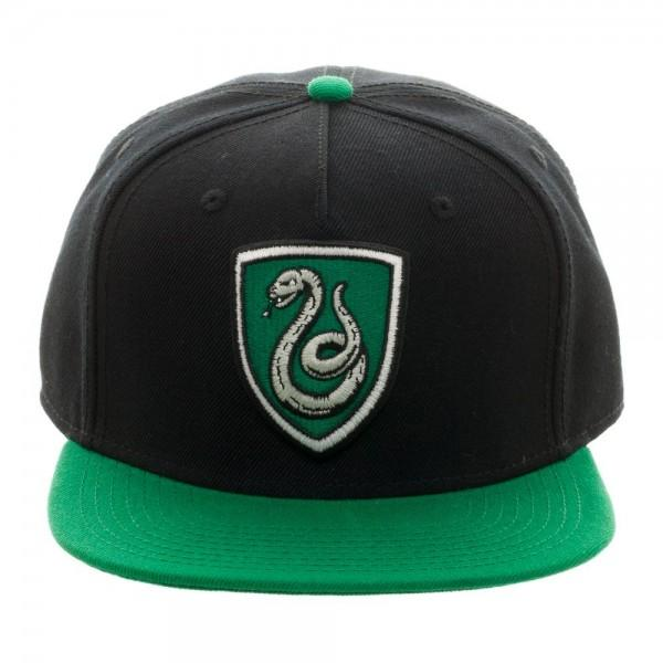 Harry Potter Slytherin Crest Snapback - shopcontrabrands.com