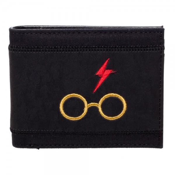 Harry Potter Glasses Bi-Fold PU Wallet - shopcontrabrands.com