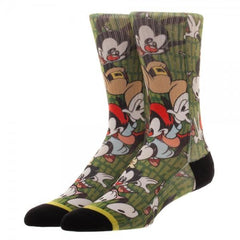Animaniacs Jump Sublimation Socks - shopcontrabrands.com