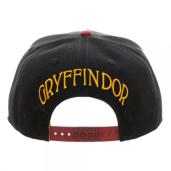 Harry Potter Gryffindor Crest Snapback - shopcontrabrands.com