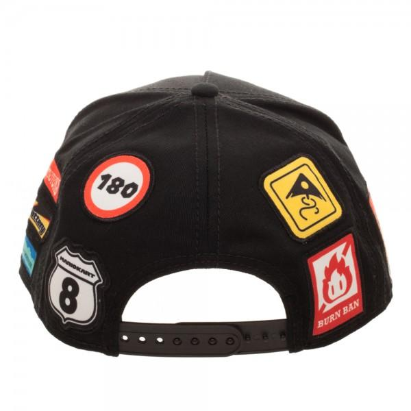 Nintendo Super Mario Kart Youth Omni Color Snapback | shopcontrabrands.com