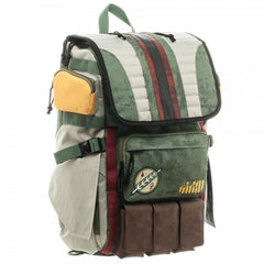 Star Wars Boba Fett Laptop Backpack | shopcontrabrands.com