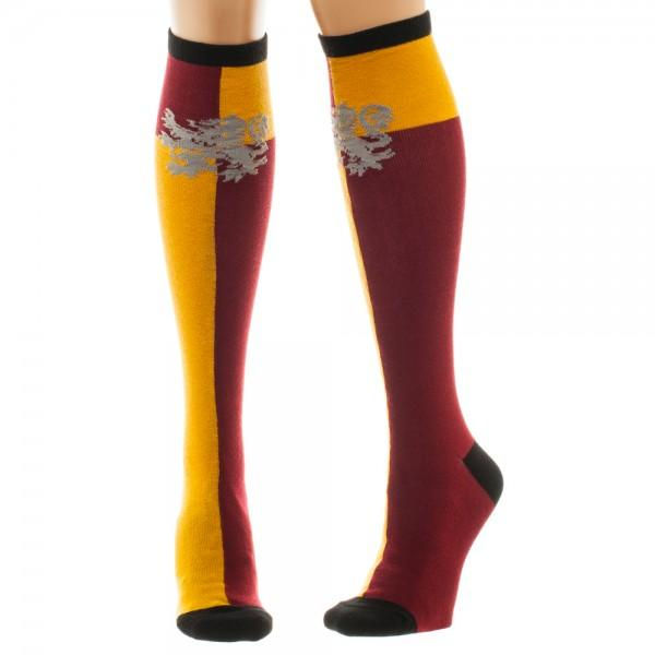 Harry Potter Gryffindor Juniors Knee High Socks - shopcontrabrands.com