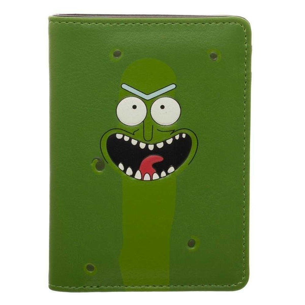 Rick & Morty Mr Pickle Vertical Bi-Fold Wallet | shopcontrabrands.com