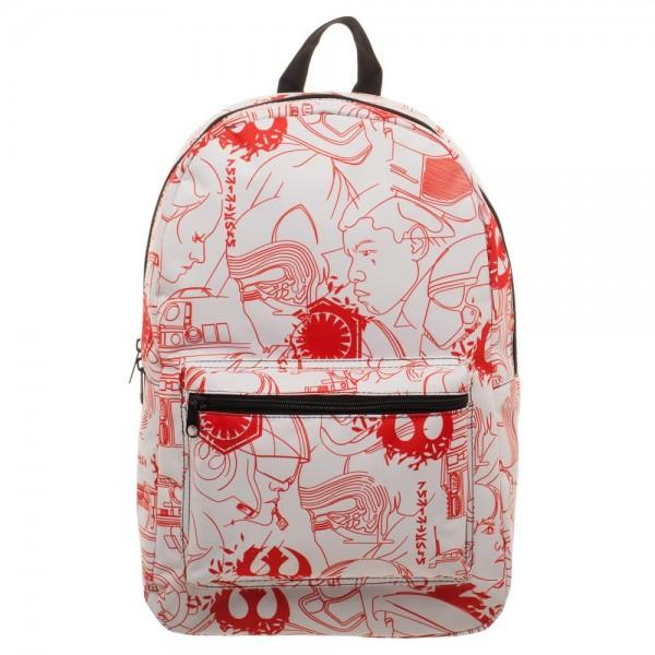 Star Wars Episode 8 QT Salt Planet Backpack | shopcontrabrands.com