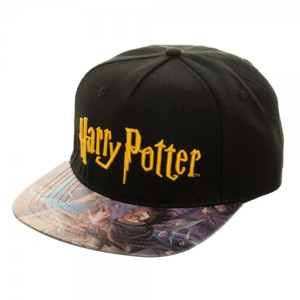 Harry Potter Printed Vinyl Bill FlatBill - shopcontrabrands.com