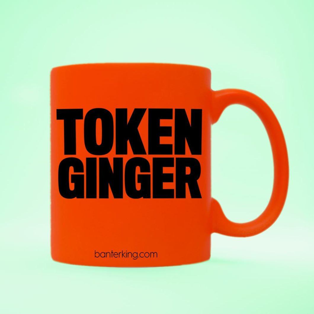 TOKEN GINGER NEON RED MUG Mugs The Mug Printing Company