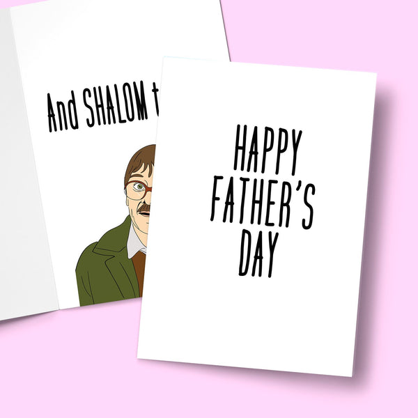 HAPPY FATHER'S DAY SURPRISE SHALOM CARD Card BanterKing
