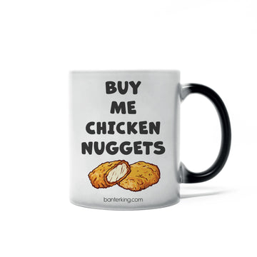 CHICKEN NUGGETS HEAT SENSITIVE MUG Mug BanterKing