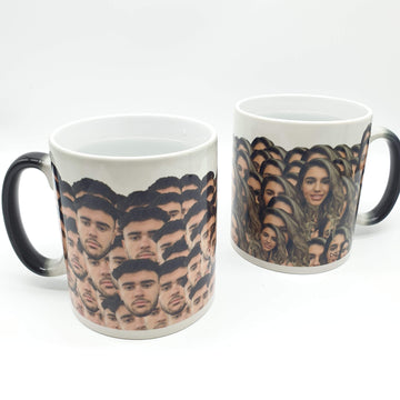 (ADD ANY FACE) PERSONALISED HEAT SENSITIVE MUG Mug BanterKing