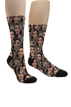 (ADD ANY FACE) MAKE YOUR OWN SOCKS