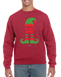 ELF SIZED CHRISTMAS JUMPER BanterKing SMALL RED 1 JUMPER