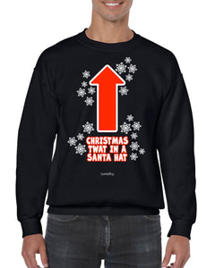 CHRISTMAS TWAT CHRISTMAS JUMPER BanterKing SMALL BLACK 1 JUMPER