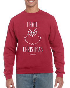 I HATE CHRISTMAS, CHRISTMAS JUMPER BanterKing SMALL RED 1 JUMPER