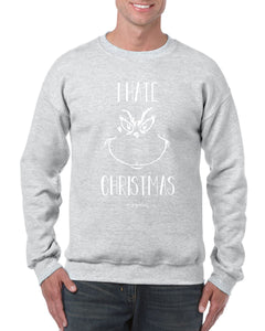 I HATE CHRISTMAS, CHRISTMAS JUMPER BanterKing SMALL GREY 1 JUMPER