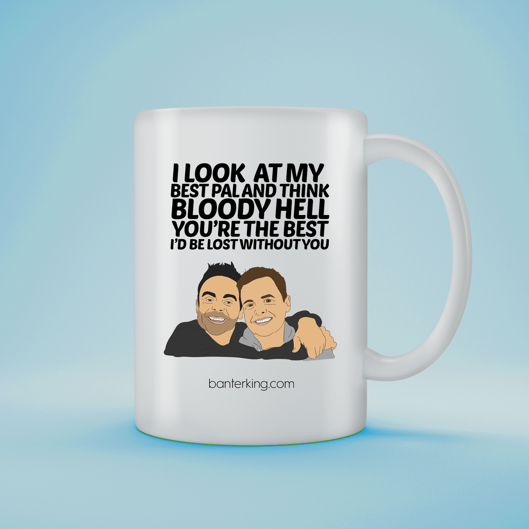 I LOOK AT MY BEST PAL 11OZ LARGE MUG Mug BanterKing 1 MUG