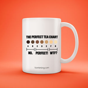 MY PERFECT TEA MUG Mug The Mug Printing Company