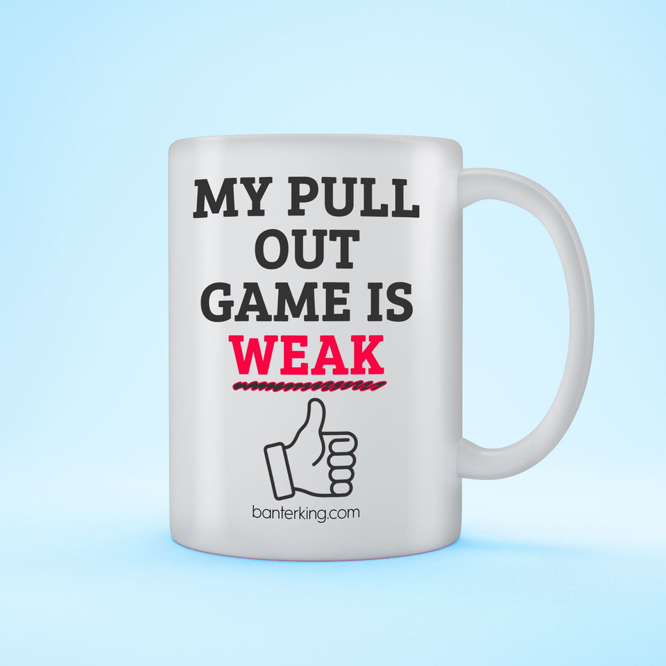 PULL OUT GAME MUG Mug BanterKing