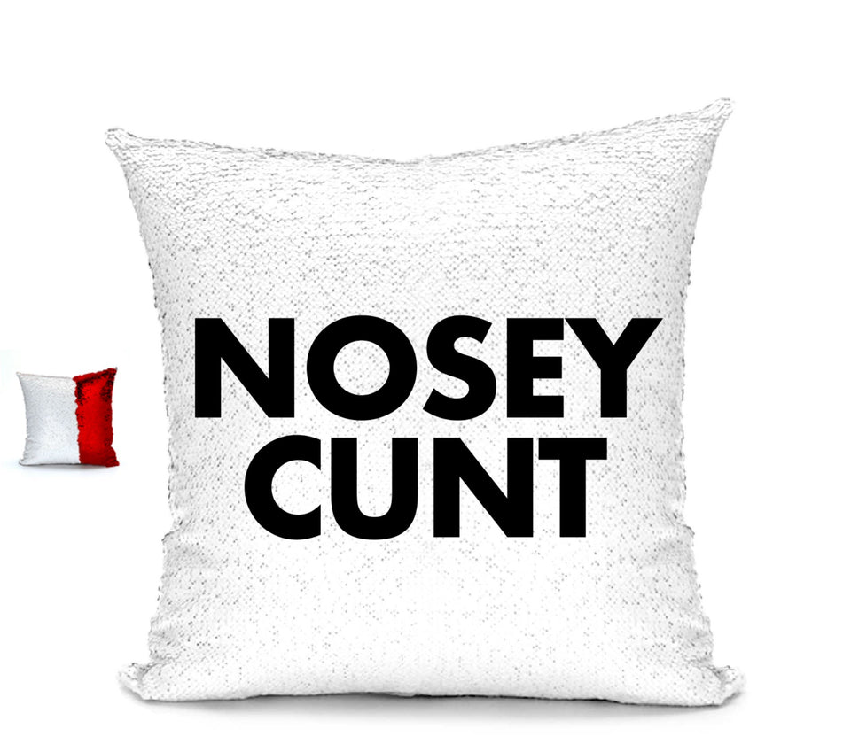 NOSEY CUNT CUHSION Cushion BanterKing