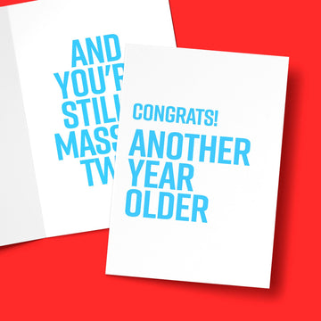 ANOTHER YEAR OLDER CARD Card BanterKing