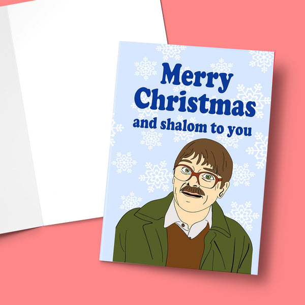 MERRY CHRISTMAS AND SHALOM TO YOU CHRISTMAS CARD Card BanterKing 1 CARD