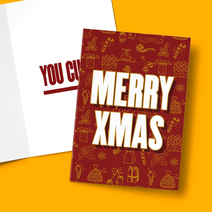 MERRY XMAS CARD Card BanterKing