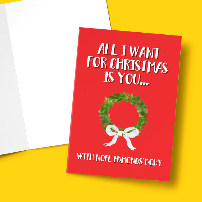 ALL I WANT FOR CHRISTMAS IS YOU...CARD Card BanterKing