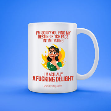 I'M A FUCKING DELIGHT MUG Mug The Mug Printing Company