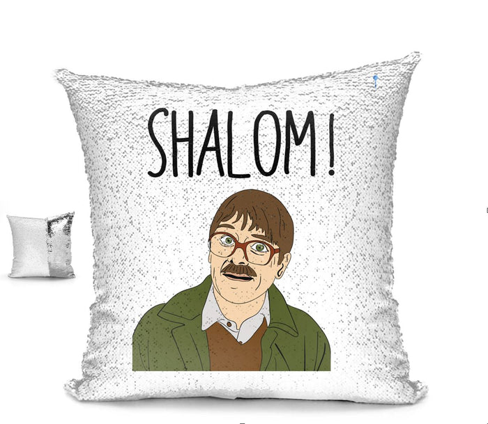 SHALOM! CUSHION Cushion BanterKing Silver/White No