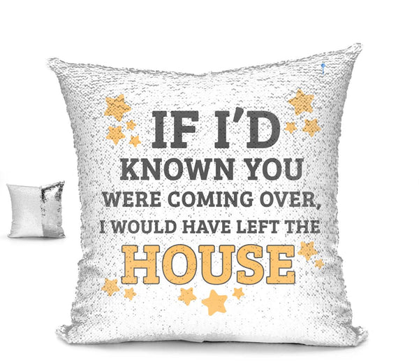I'F I'D KNOWN YOU WERE COMING CUSHION Cushion BanterKing Silver/White No