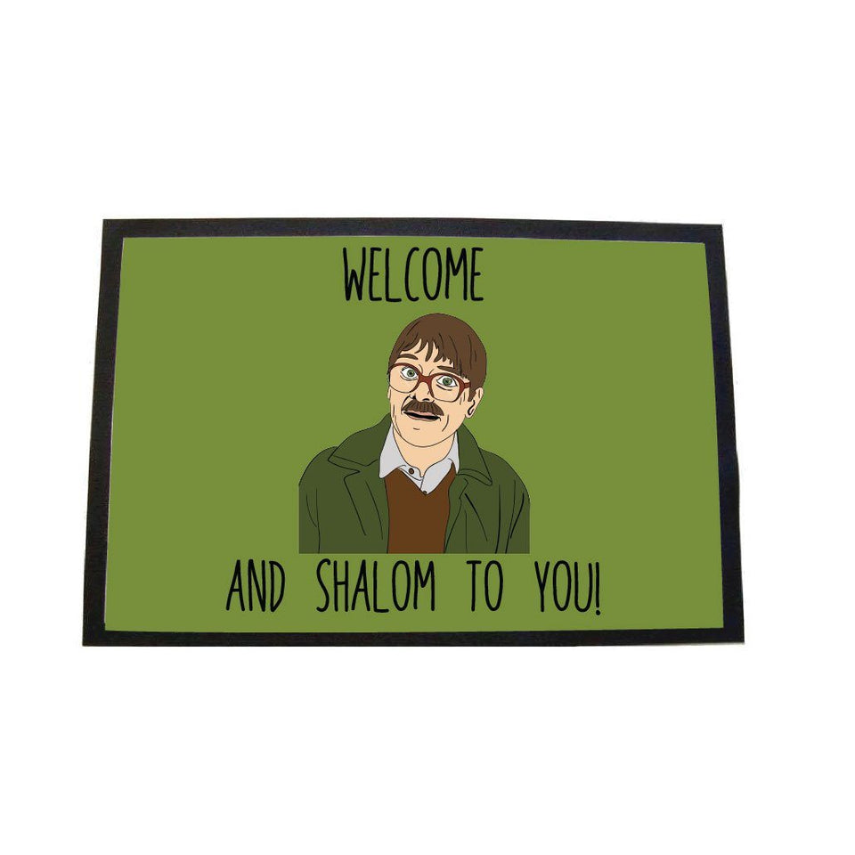 SHALOM LARGE DOOR MAT Door Matt BanterKing Green 1 MAT