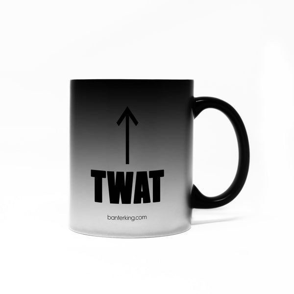 TWAT COLOUR CHANGING MUG Mug The Mug Printing Company