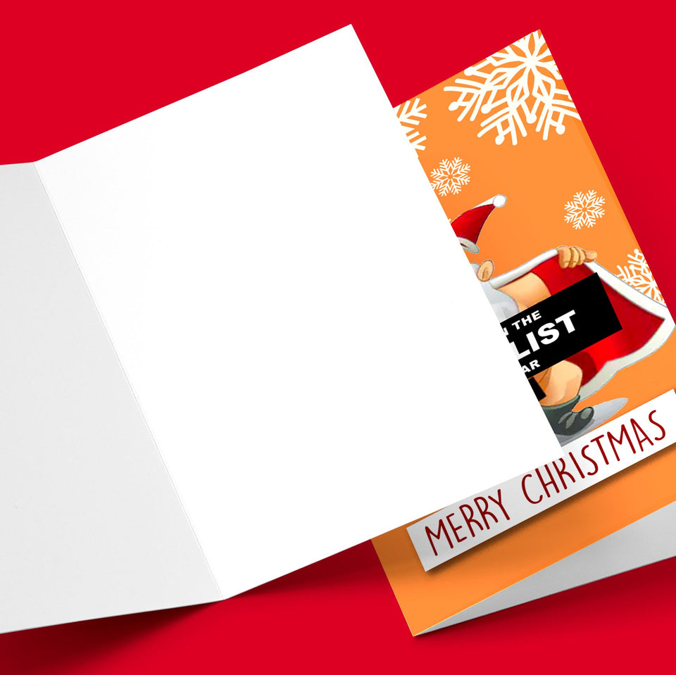 CUNT LIST CHRISTMAS CARD Card BanterKing