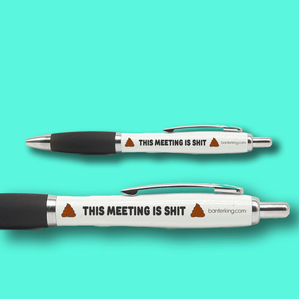 THIS MEETING IS PEN pens BanterKing 1 PEN