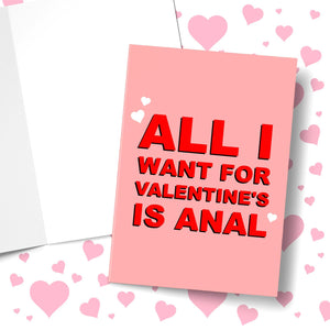 All I Want For Christmas Is A Valentine's Greeting Card Stationery Prodigi
