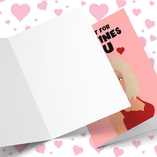 All I Want For Valentine's Is Ru Valentine's Greeting Card Stationery Prodigi