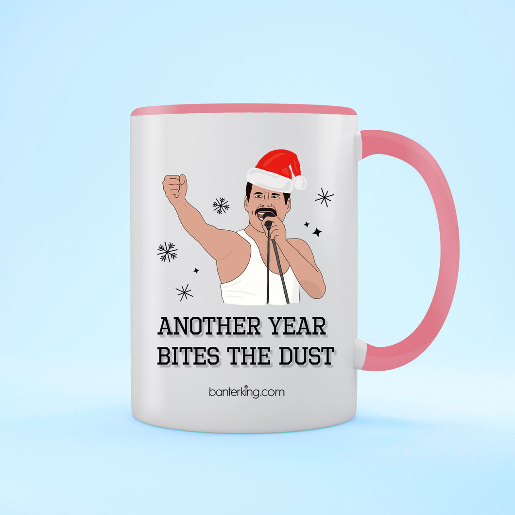 Another Year Bites, Two Toned Mug Mug BanterKing Pink