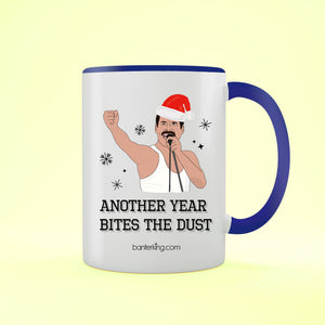 Another Year Bites, Two Toned Mug Mug BanterKing Blue