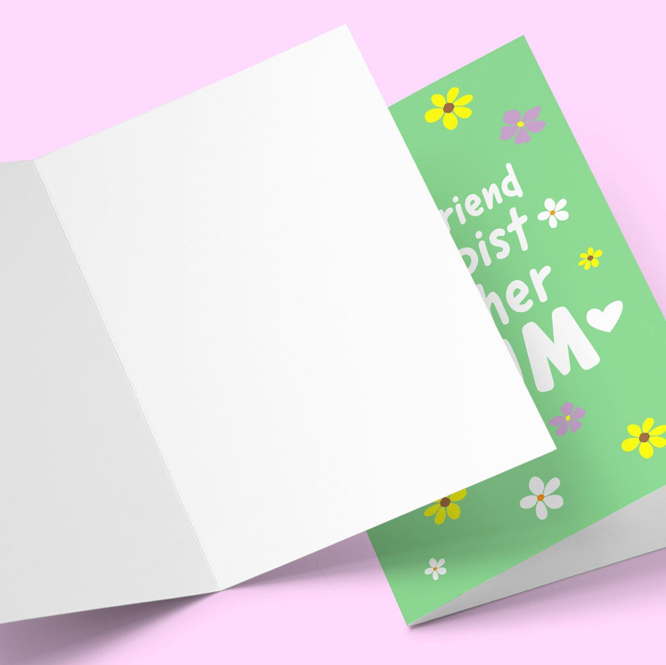 Best Friend, Therapist Teacher Mother's Day Card Stationery Prodigi