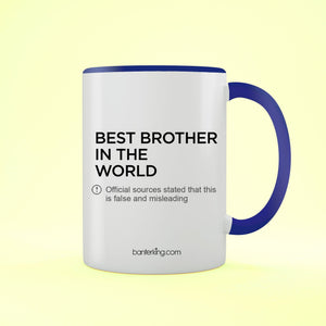 Brother Official Sources Two Toned Mug Mug BanterKing Blue