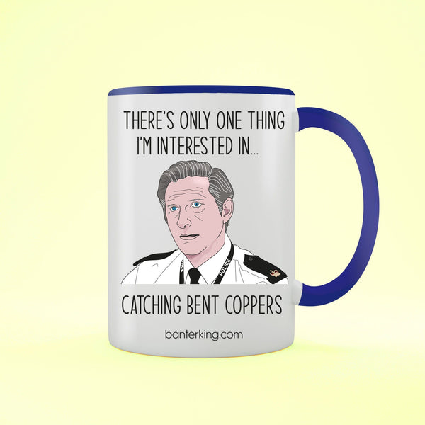 Catching Bent Coppers Line of Duty Two Toned Mug Mug Banter King Red