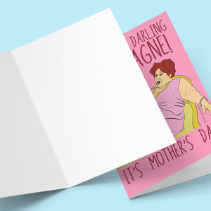 Champagne Darling Champagne! It's Mother's Day Card Stationery Prodigi