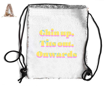 SEQUIN SPORTS BAG Sequin Bags BanterKing Rose Gold
