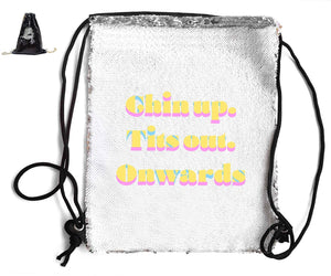 SEQUIN SPORTS BAG Sequin Bags BanterKing Black