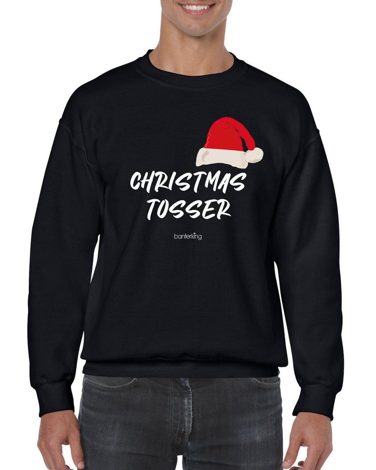 Christmas Tos, Christmas Jumper Jumper BanterKing SMALL BLACK
