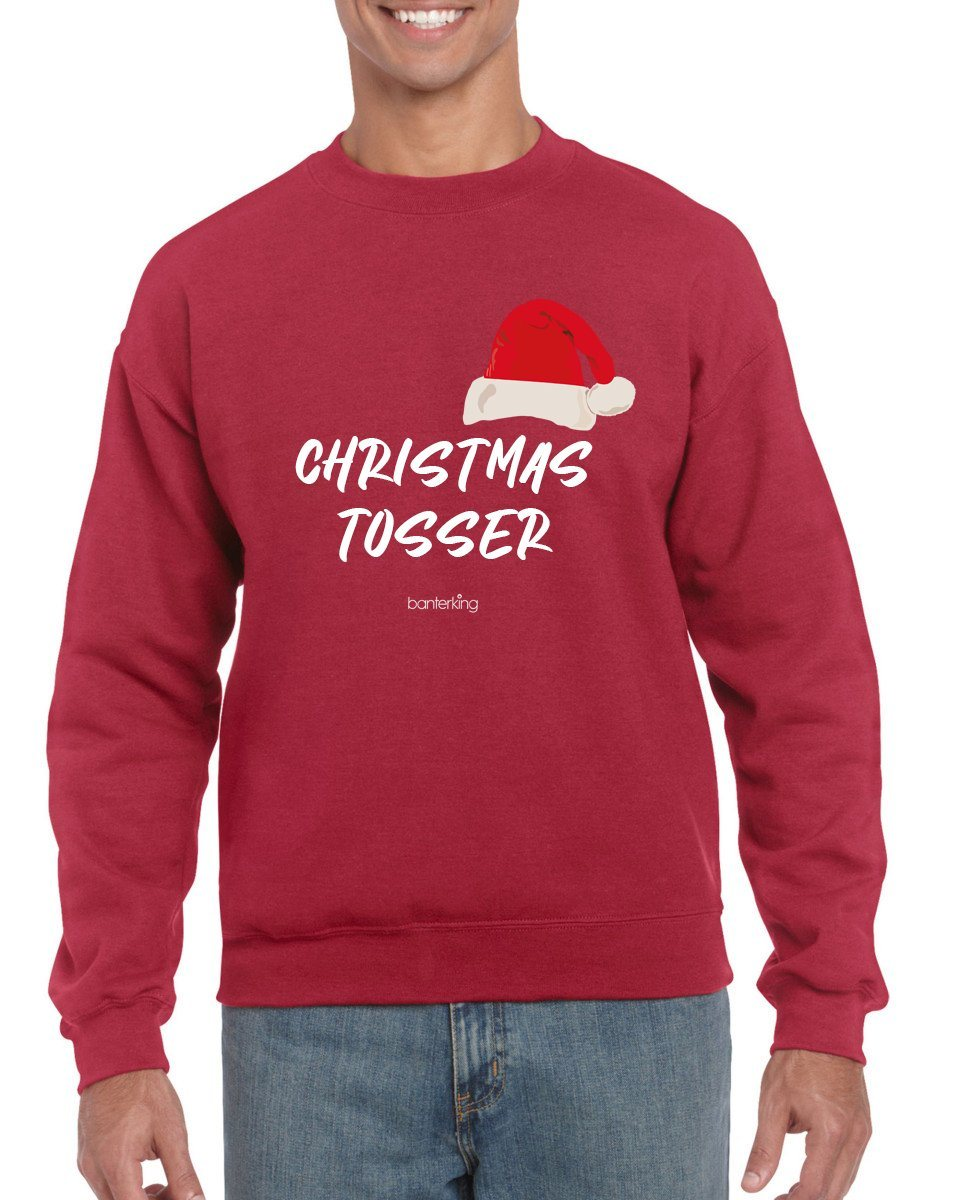 Christmas Tos, Christmas Jumper Jumper BanterKing SMALL RED
