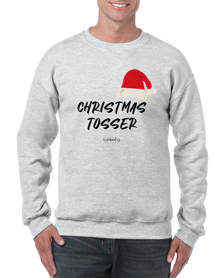 Christmas Tos, Christmas Jumper Jumper BanterKing SMALL GREY