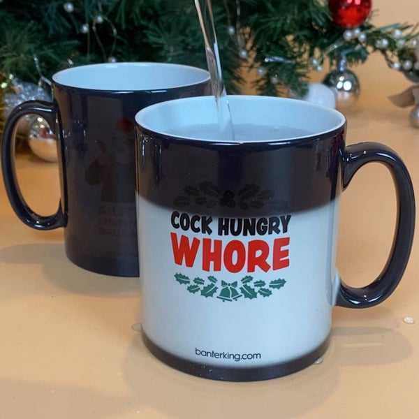 C**k Hungry, Heat Changing Mug Mug WeBrandIt