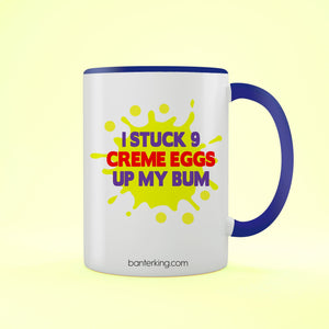 CREME EGG TWO TONED MUG Mug BanterKing Blue 1 MUG